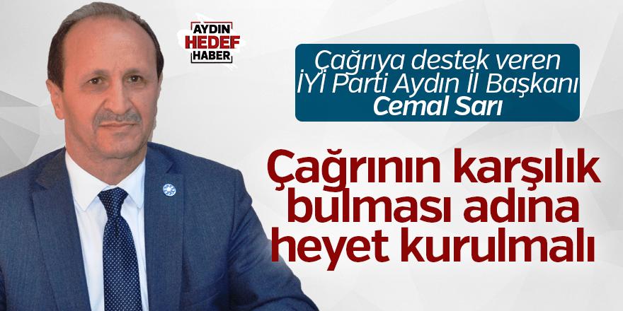 İYİ Parti'den Çerçioğlu'na destek