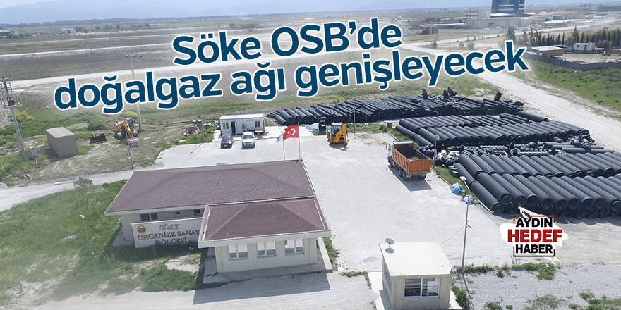 Söke OSB'de doğalgaz ağı genişleyecek