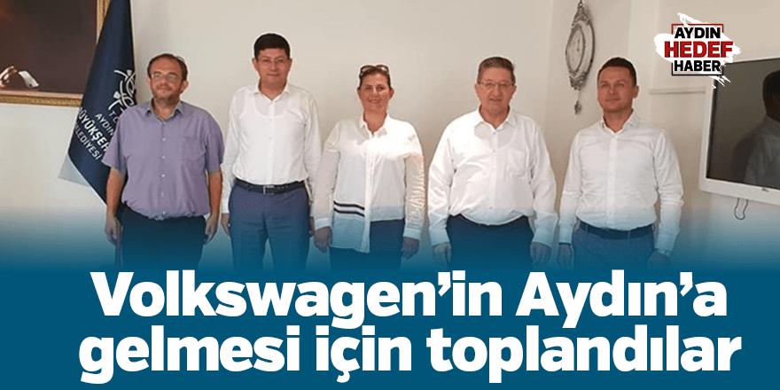 Volkswagen'in Aydın'a gelmesi için toplandılar
