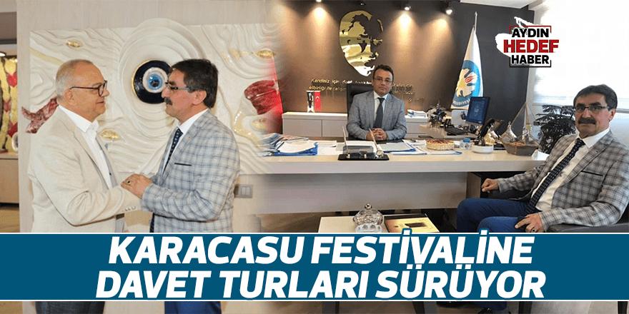 Karacasu Festivaline davet turları sürüyor