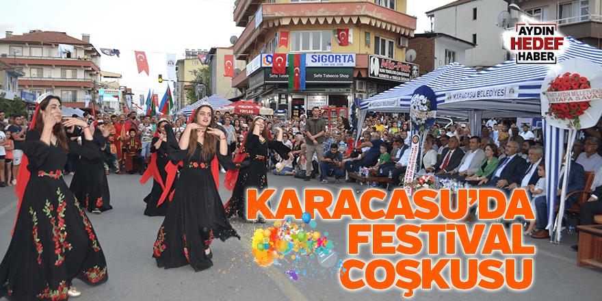 Karacasu'da 32. festival coşkusu yaşanıyor