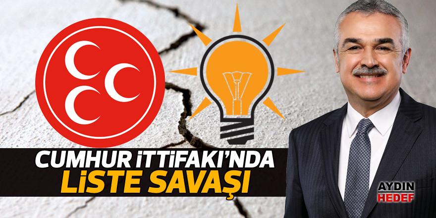 Cumhur İttifakı'nda liste savaşı