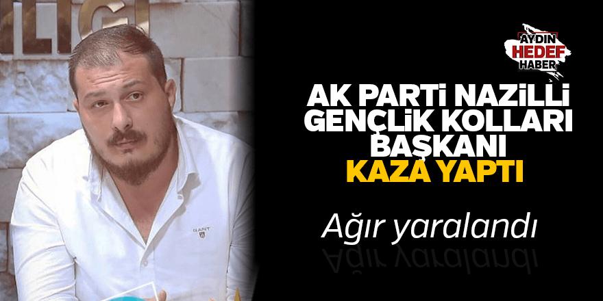 AK Parti Gençlik Kolları Başkanı hastaneye kaldırıldı.