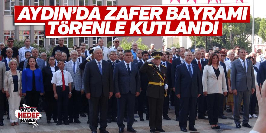 Aydın'da Zafer Bayramı törenle kutlandı