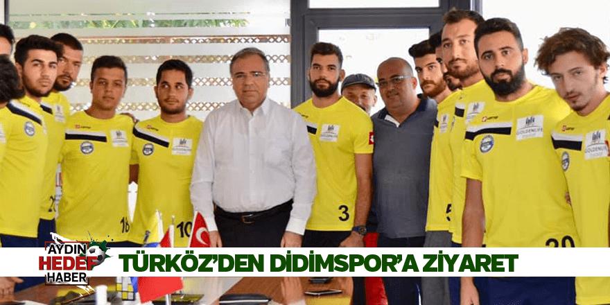 Türköz'den Didimspor'a ziyaret