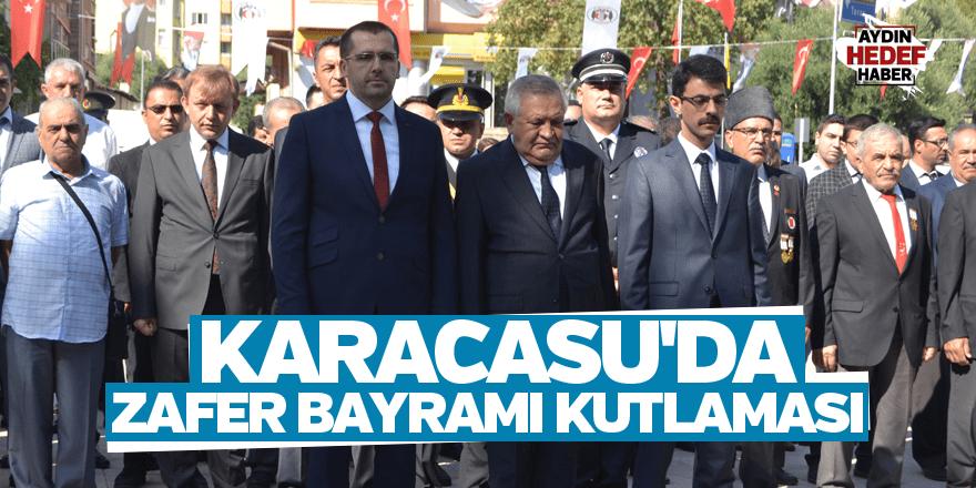 Karacasu'da Zafer Bayramı kutlaması