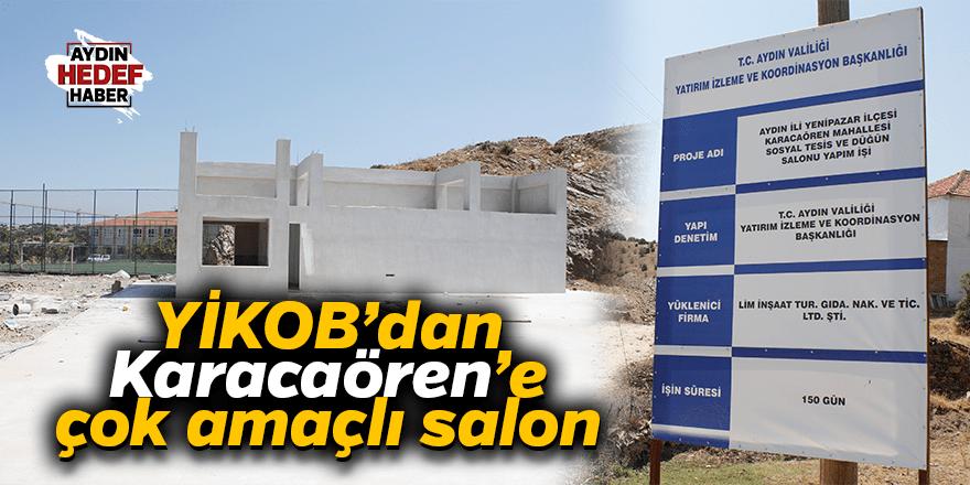 YİKOB'dan Karacaören'e çok amaçlı salon