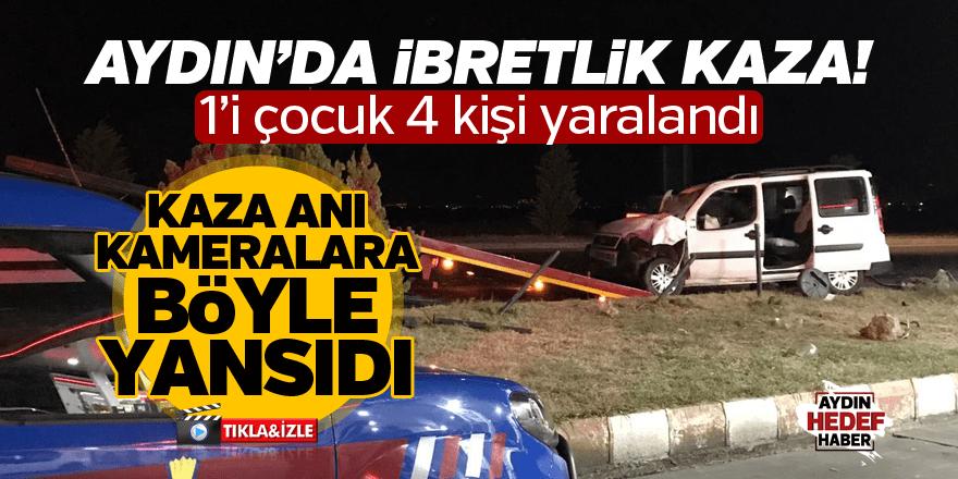 Aydın'da kaza: 4 yaralı