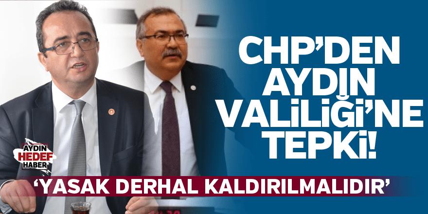CHP'den kayyum eylemi yasağına tepki