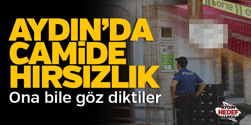 Aydın'da camide hırsızlık