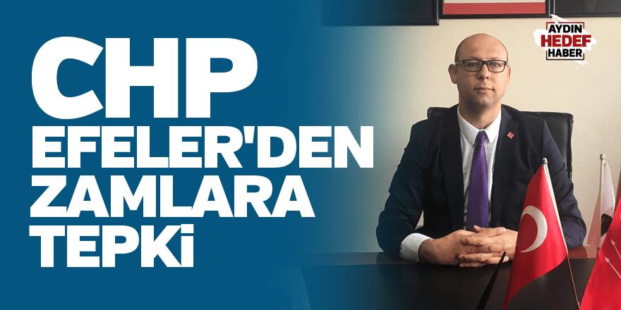 CHP Efeler'den zamlara tepki