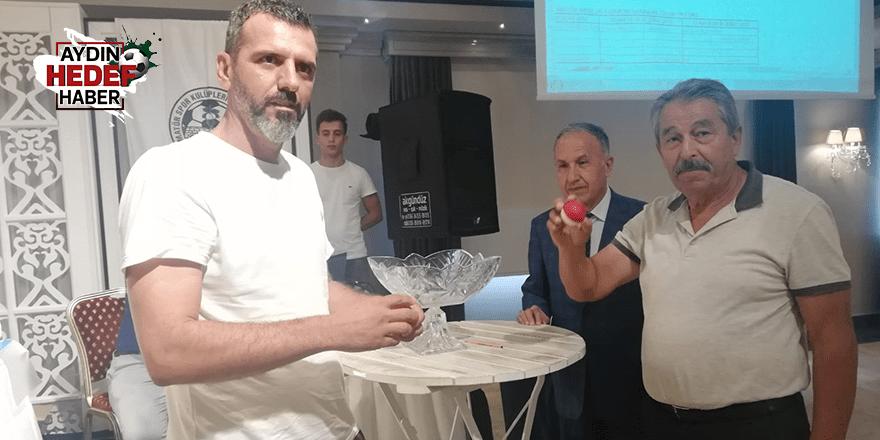 Aydın Amatör Süper Lig'de fikstür çekimi