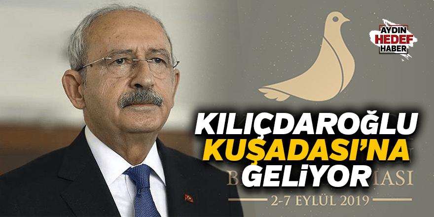 Kılıçdaroğlu Kuşadası'na geliyor
