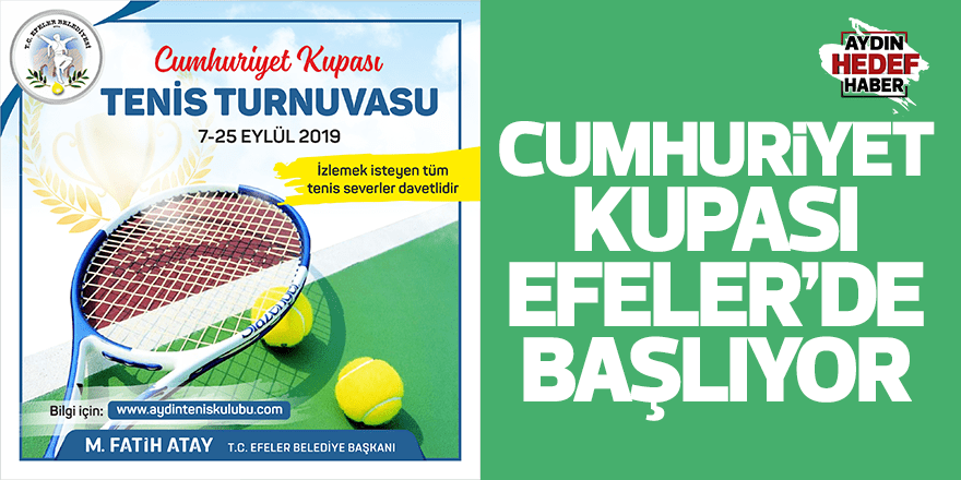 Aydın'da Cumhuriyet Kupası