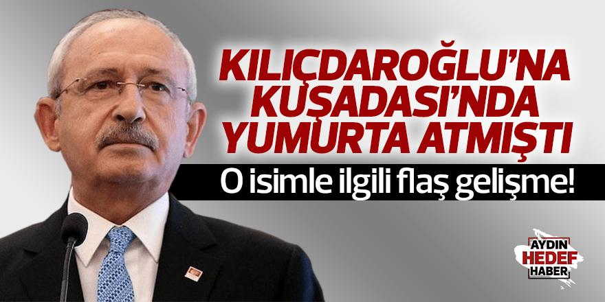 Kemal Kılıçdaroğlu'na yumurta atmıştı