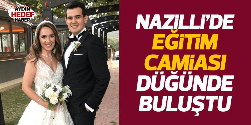 Nazilli'de eğitim camiasını buluşturan düğün