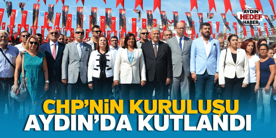 CHP'nin kuruluşu Aydın'da kutlandı