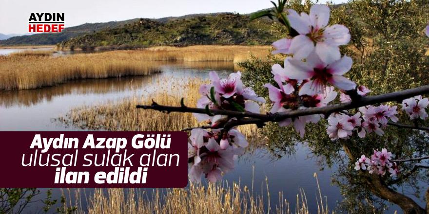 Azap Gölü ulusal sulak alan ilan edildi