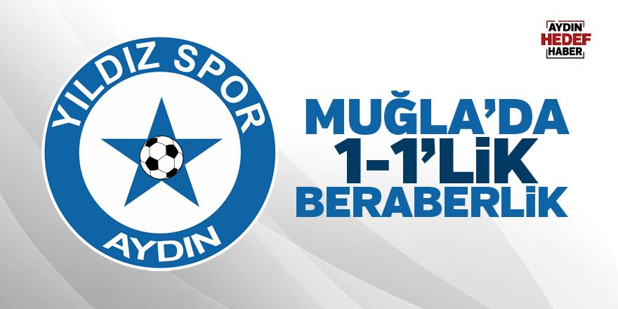 Muğla'da 1-1'lik beraberlik