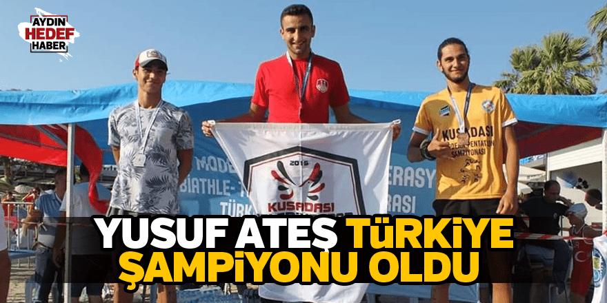 Ateş, Türkiye Şampiyonu oldu