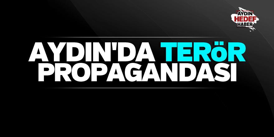 Aydın'da terör örgütü propagandası iddiası
