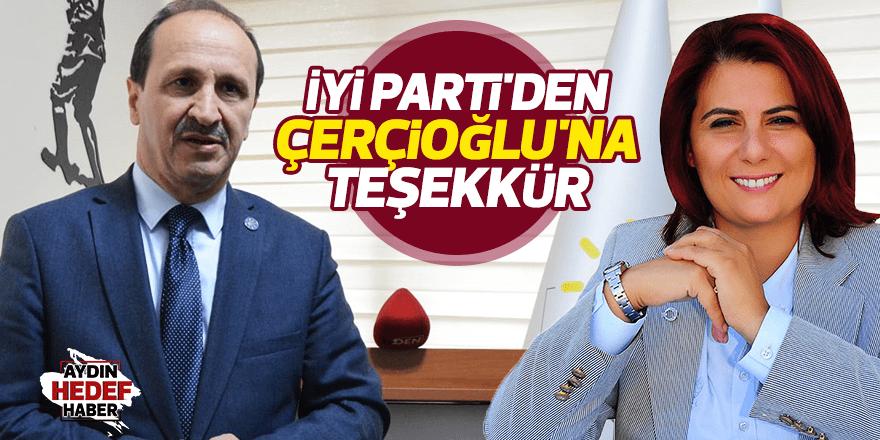 İYİ Parti'den Çerçioğlu'na teşekkür