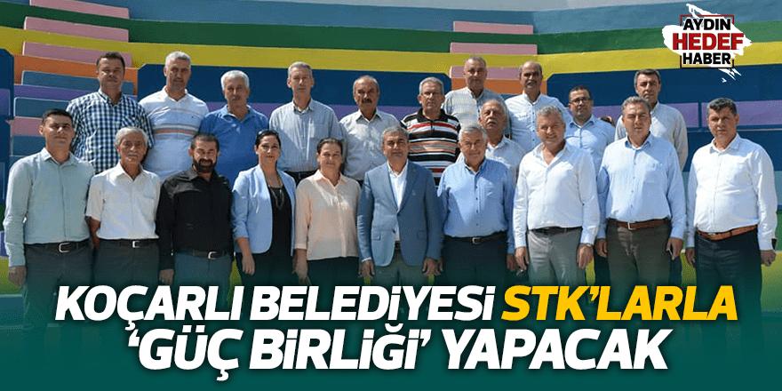 Koçarlı Belediyesi STK'larla toplandı