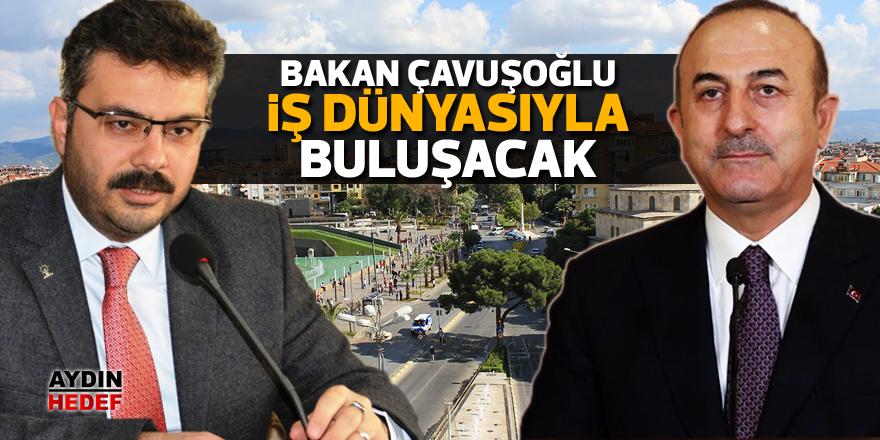 Bakan Çavuşoğlu iş dünyasıyla buluşacak