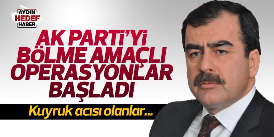 Erdem: 'AK Parti'yi bölme amaçlı operasyonlara başladı'