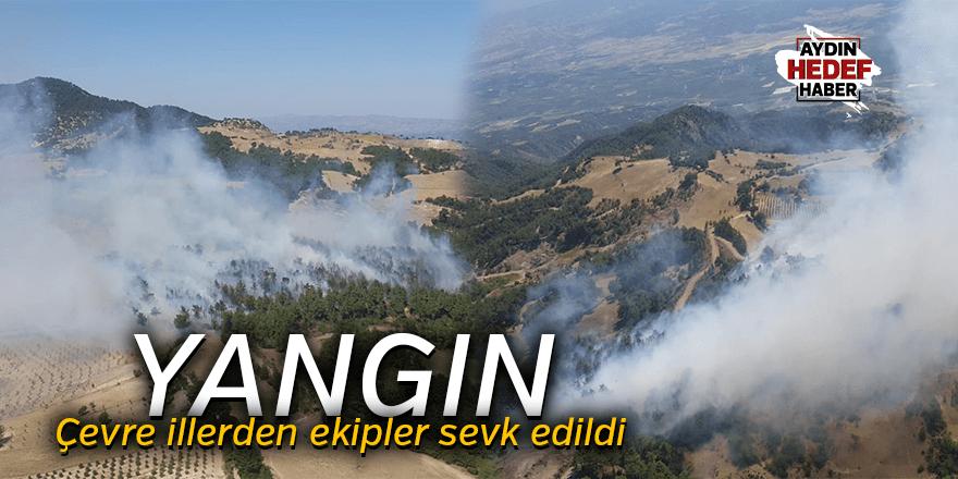 Denizli'nin Buldan ilçesinde çıkan orman yangını kontrol altına alındı.