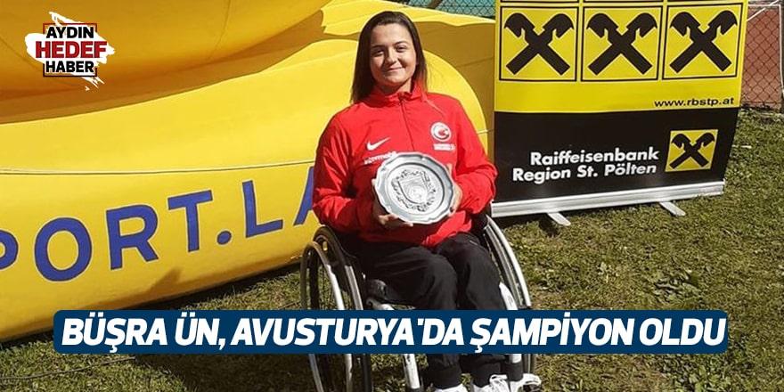 Büşra Ün, Avusturya'da şampiyon oldu