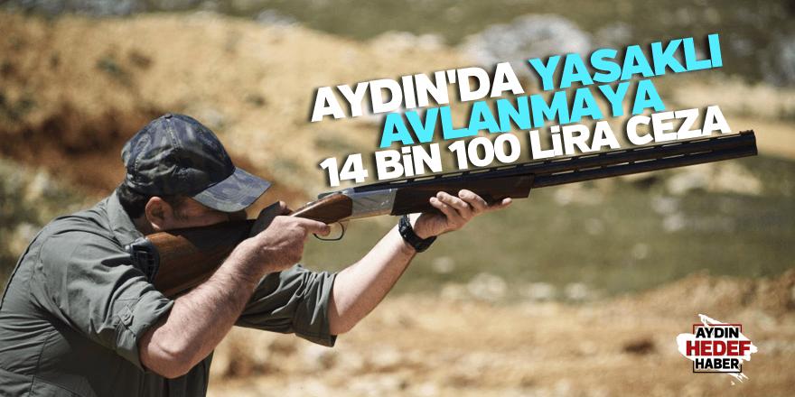 Yasaklı avlanmaya 14 bin 100 lira ceza
