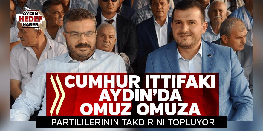 'Cumhur İttifakı' Aydın'da omuz omuza