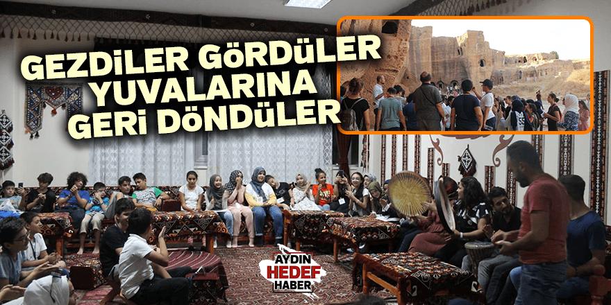 40 öğrenci Aydın'a döndü