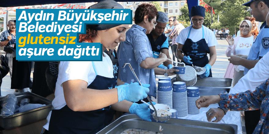 Aydın Büyükşehir Belediyesi glutensiz aşure dağıttı