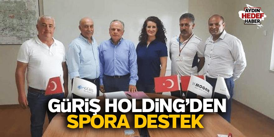 GÜRİŞ Holding'den Germencikspor'a destek