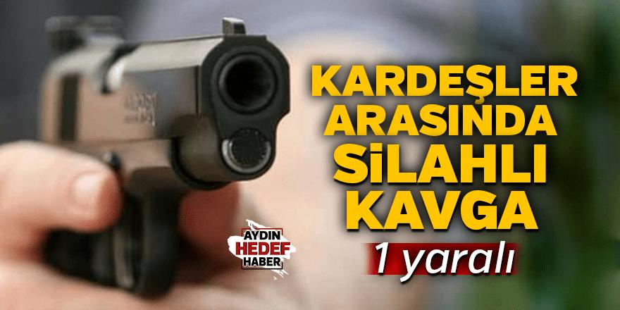 İzmir'de kardeşler arasında silahlı kavga: 1 yaralı