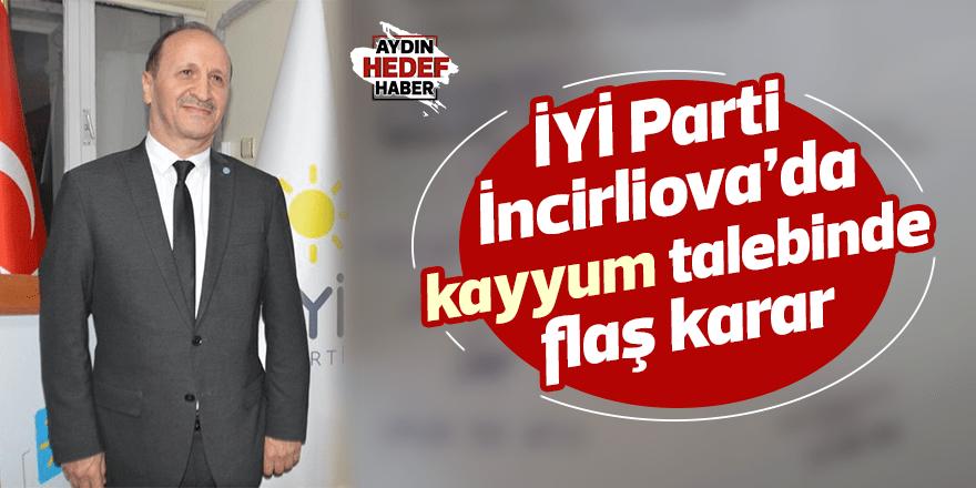İYİ Parti İncirliova'da kayyum talebinde flaş karar