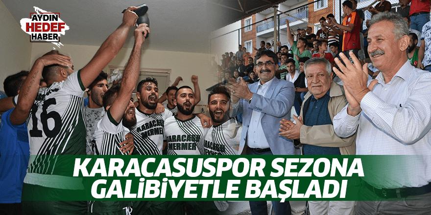 Karacasuspor sezona galibiyetle başladı