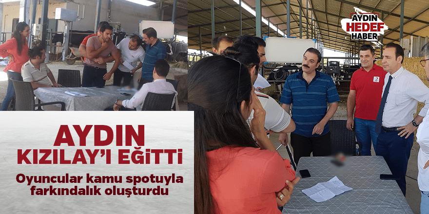 Türk Kızılayı ve TRT'den İlk yardım kamu spotu