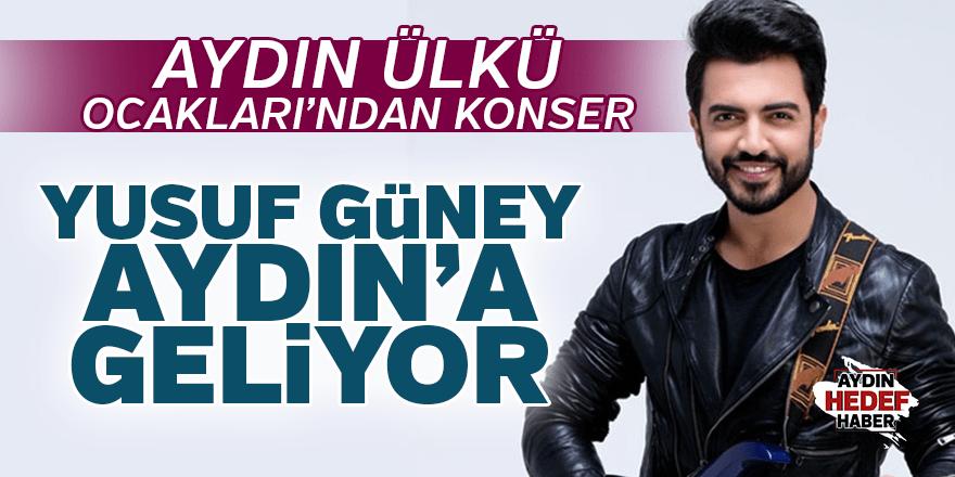 Yusuf Güney Aydın'da konser verecek