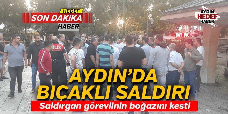 Aydın'da kanlı tartışma