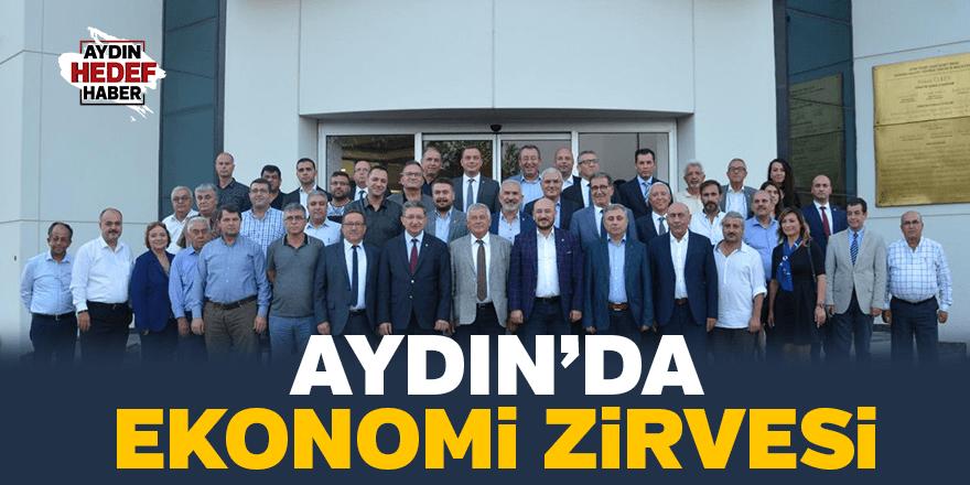 Aydın'da ekonomi zirvesi