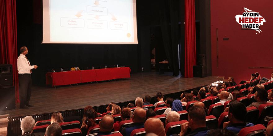 Efeler'de personele iş sağlığı eğitimi