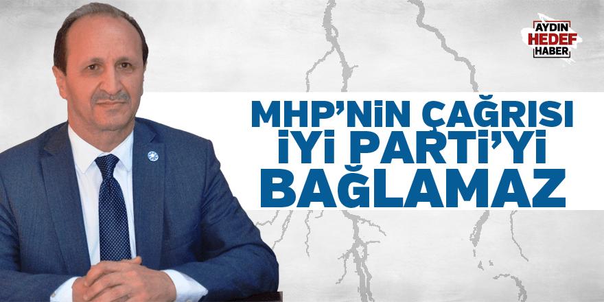 """Sarı; """"Çağrıları İYİ Parti'yi bağlamaz"""""""