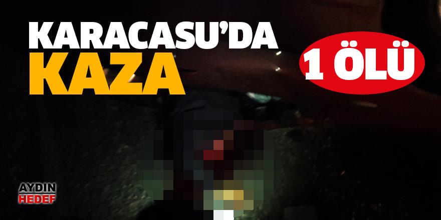 Karacasu'da feci kaza