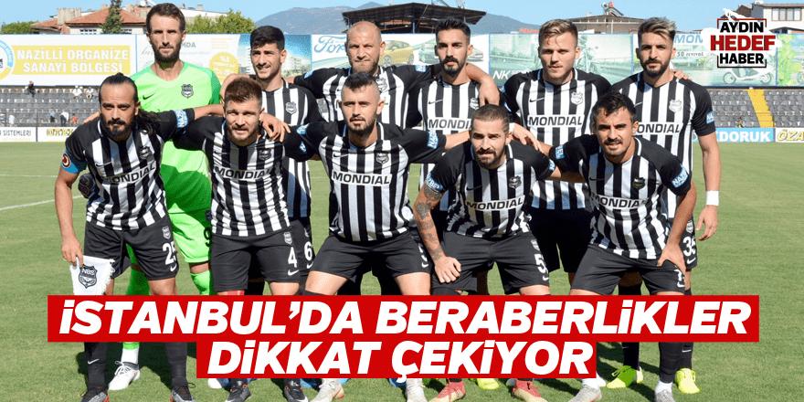 İstanbul'da beraberlikler dikkat çekiyor