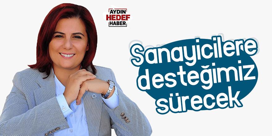 """Çerçioğlu; """"Sanayicilere desteğimiz sürecek"""""""