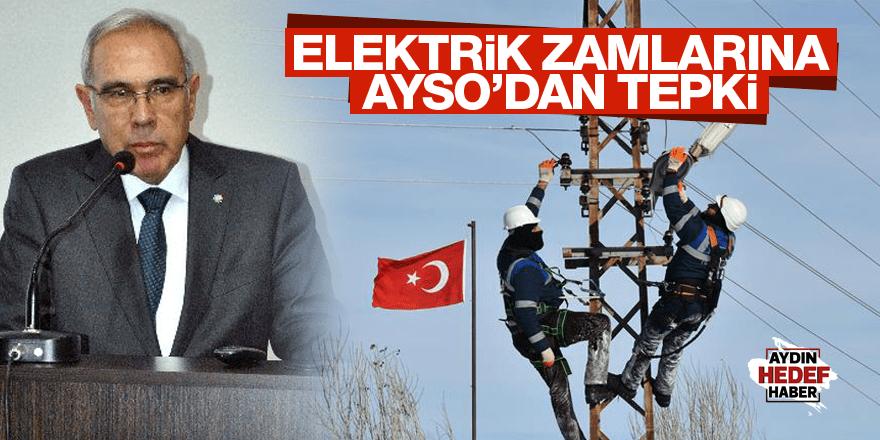 AYSO'dan elektrik zamlarına tepki