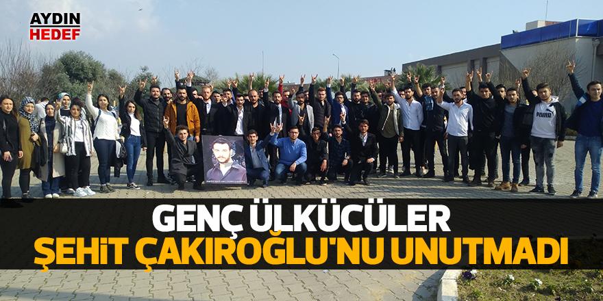 Genç Ülkücüler Şehit Çakıroğlu'nu unutmadı